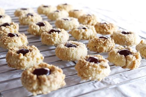 Hazelnut and Raspberry Jam Thumbprint Cookies | Baking ...