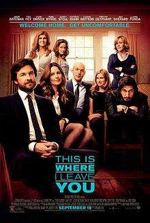 This Is Where I Leave You (2014) English Movie Poster