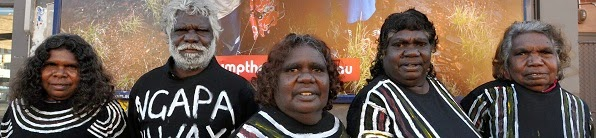 Some of the Muckaty owners.