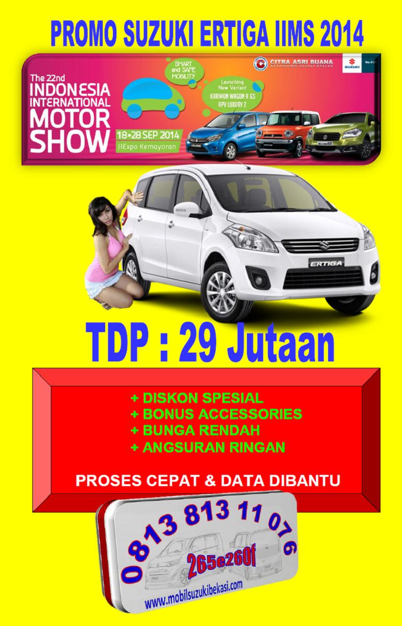 Promo Suzuki Ertiga IIMS 2014