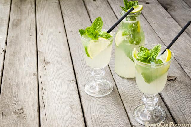 Receta de limonada casera