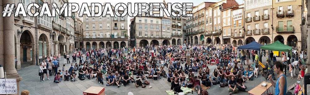 #AcampadaOurense