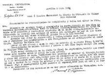Presupuesto de reconstrucción de carpintería y talla del altar de Ntra. Sra. De Valme.