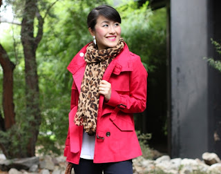 Timeless Red Trench