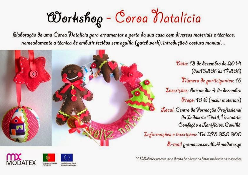 Workshop: Coroa Natalícia – Covilhã