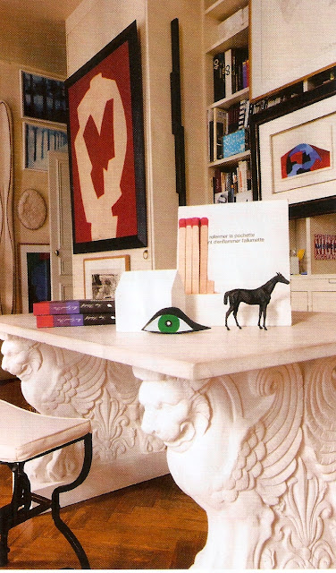 t h e v i s u a l v a m p love this desk as seen