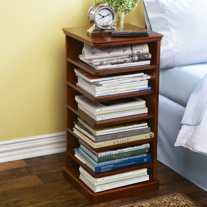 in nightstand tiny table that bedrooms how small fit designs spaces to bookshelf for bedside
