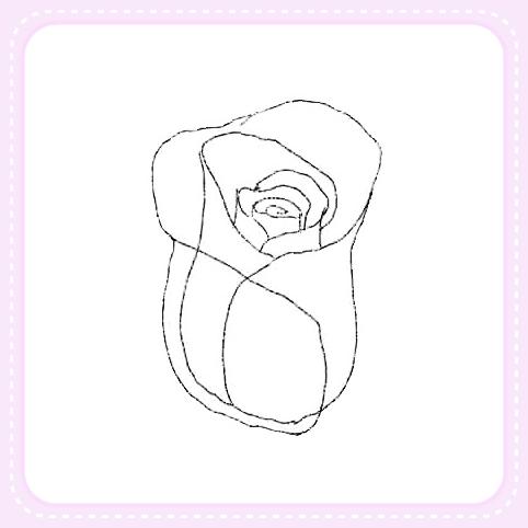 Como dibujar una rosa para manualidades | Solountip.