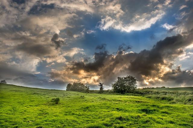 La campagna vicino a Salisbury