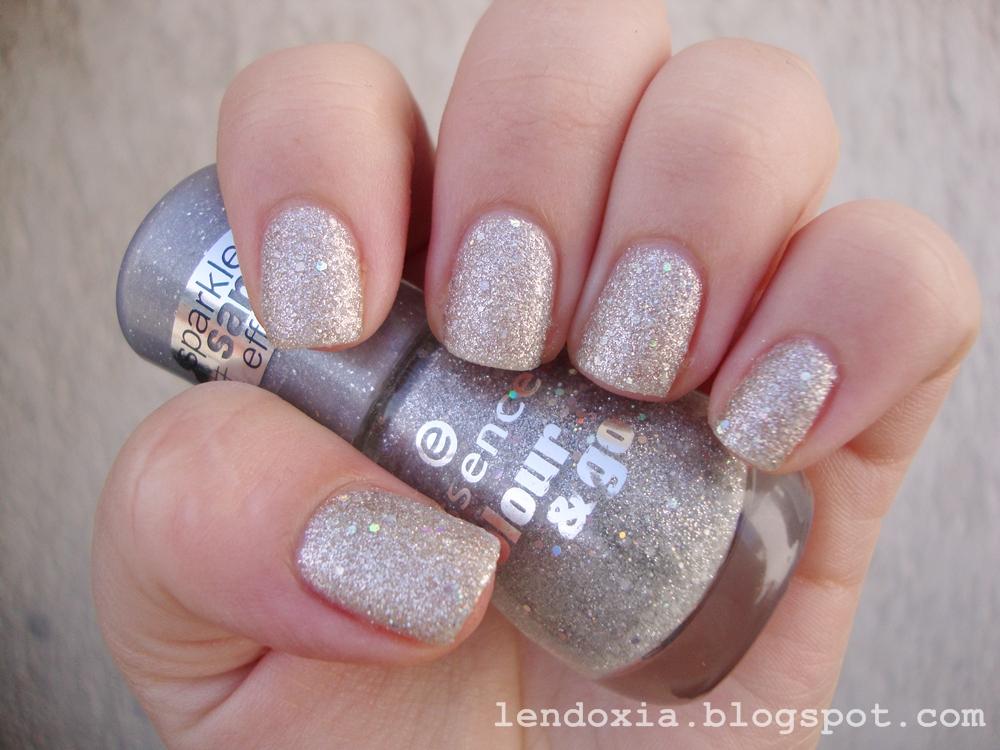 essence silver sand nail polish