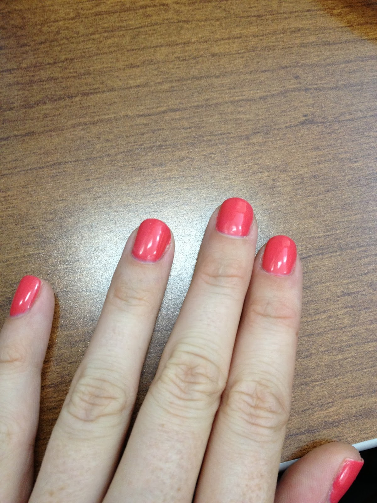 One Step at a Time: OPI GelShine Review