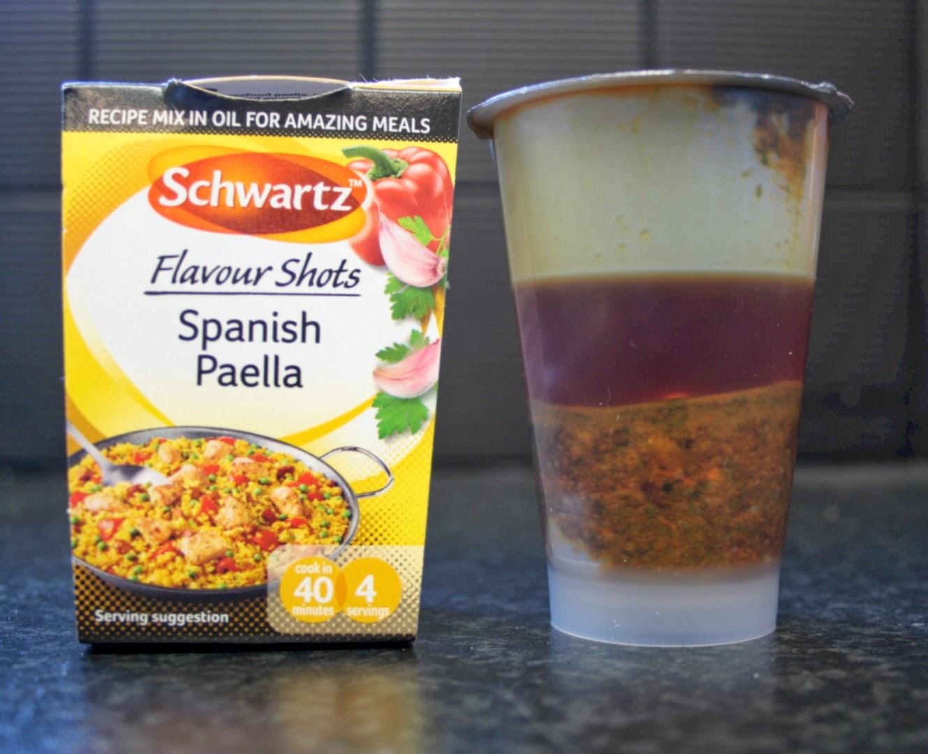 Schwartz Spanish Paella Flavour Shot - help make dinner quick and easy!