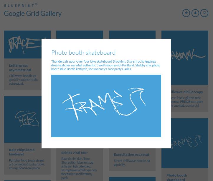 Google Grid Gallery