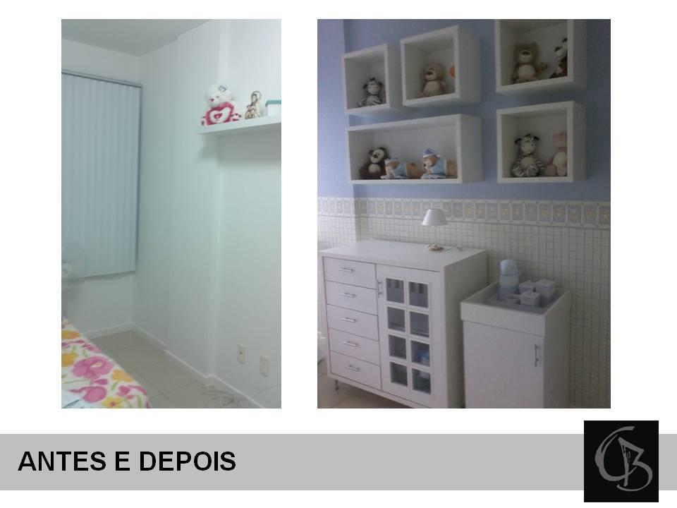 Armario de parede para quarto de bebe : Cas? bahia quarto de beb? rio vermelho