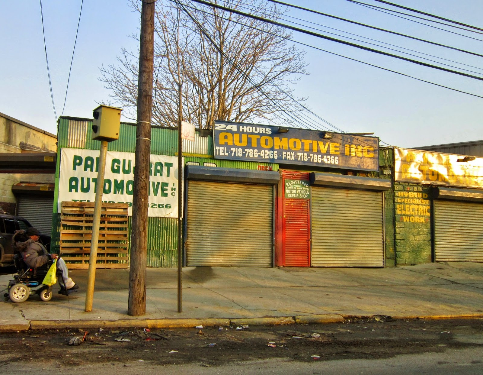 One More Folded Sunset: Autoshops, Queensbridge