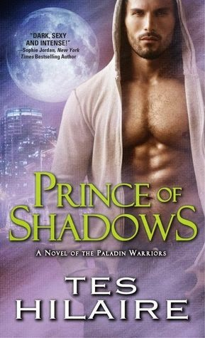 cover of Prince of Shadows by Tes Hilaire
