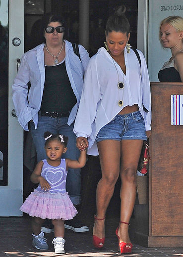 Cute Flick Of The Day: Christina Milian And Daughter Violet!