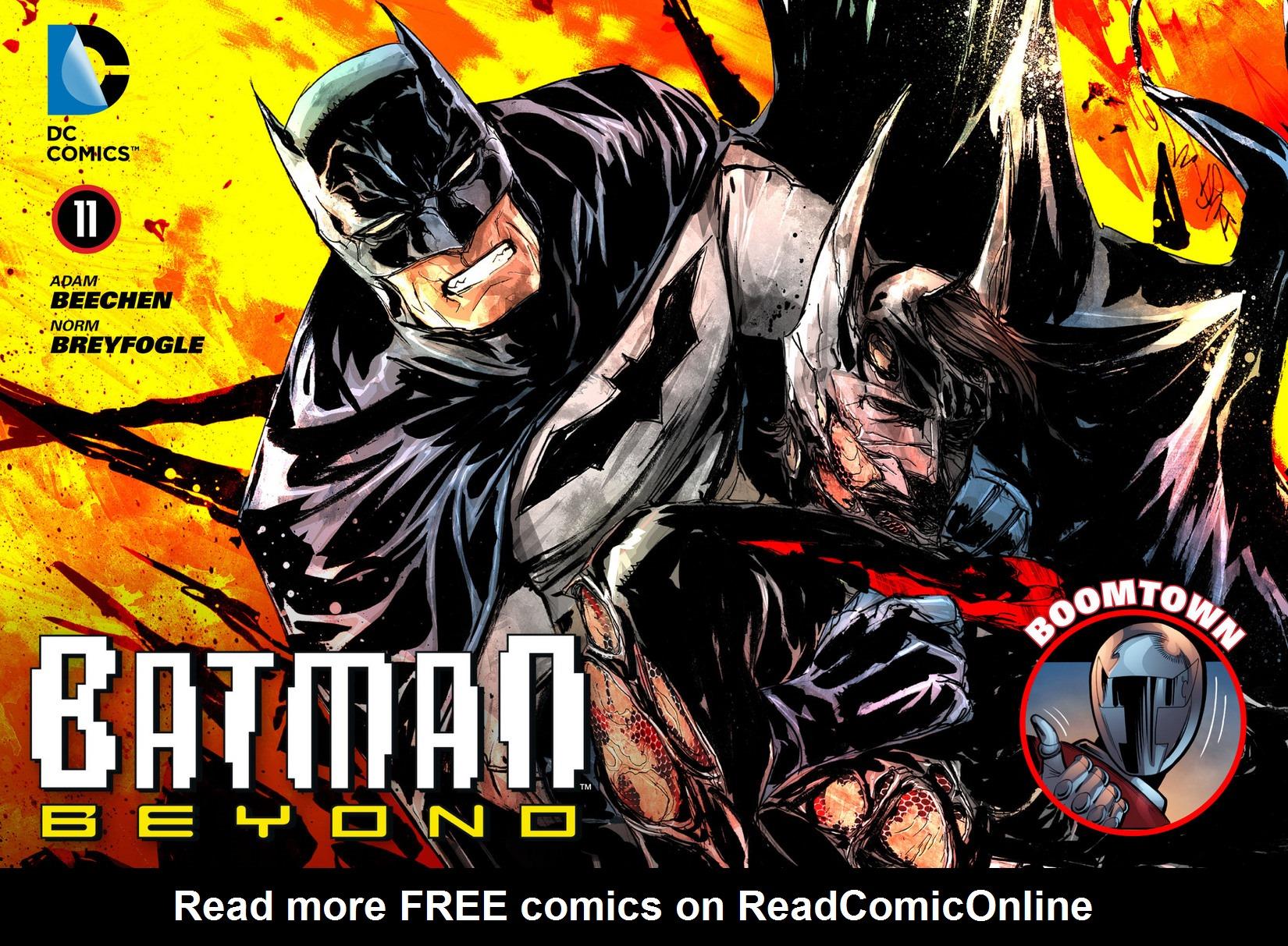 Batman Beyond (2012) Issue #11 #11 - English 1