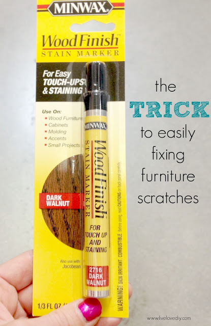 10 Paint Secrets: the trick to easily fixing furniture scratches! Check it out!