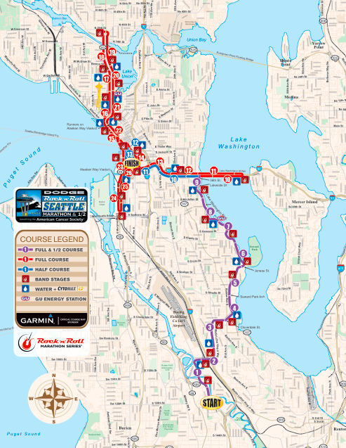 The Adventures of Team Wil-Sun: Seattle Rock \'n\' Roll Half Marathon ...