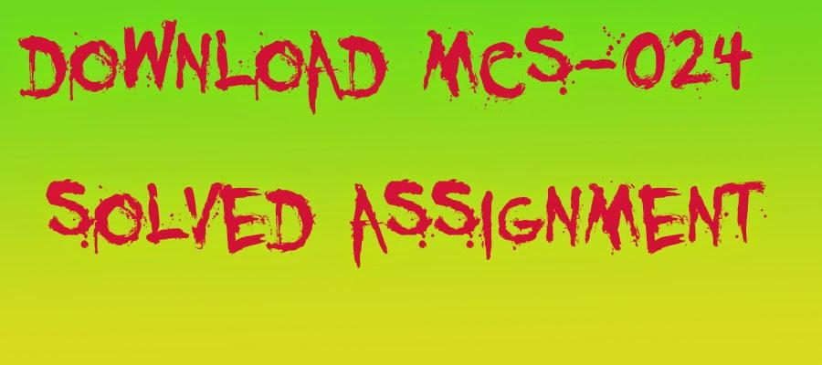 Bca assignment