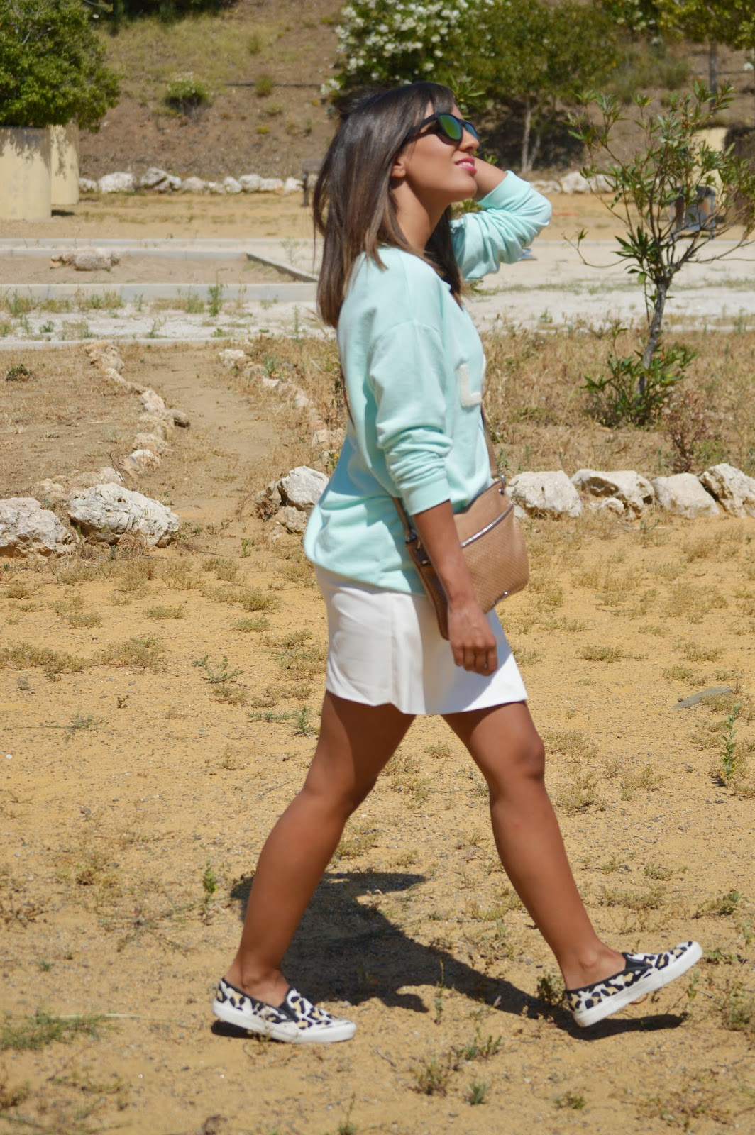 street style fashion style ootd cristina style fashion blogger malagueña blogger malagueña outft look chic slip on mango lovely nice moda mood inspiration trend happy summer
