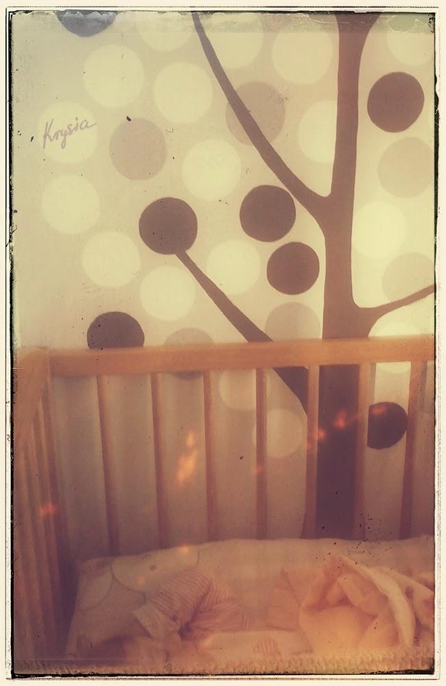 Krysi dom i Hania śpi