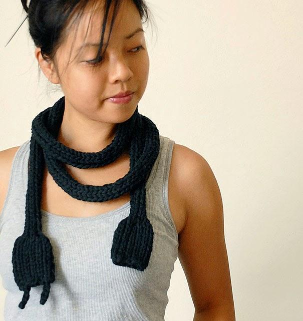 Самые необычные зимние шарфы
