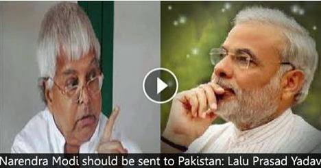 VIDEO, narendra modi, election india 2014, indian news, lalu prasad, election news, lalu statement against modi,