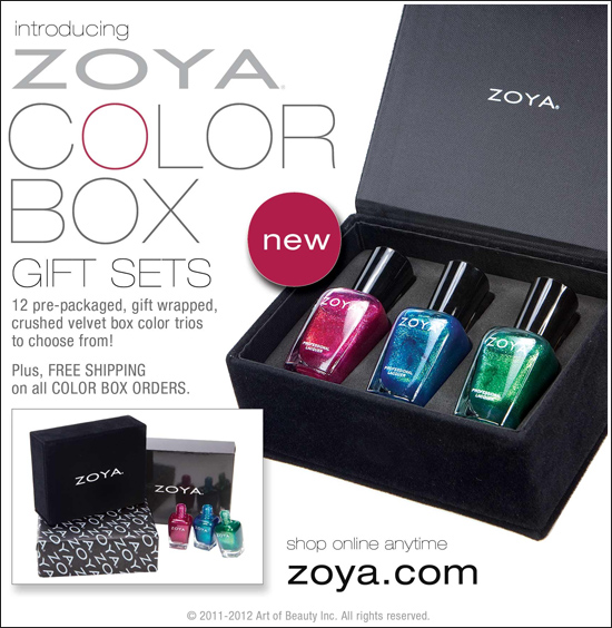 Zoya Nail Polish Holiday Gift Box Set - MyThirtySpot