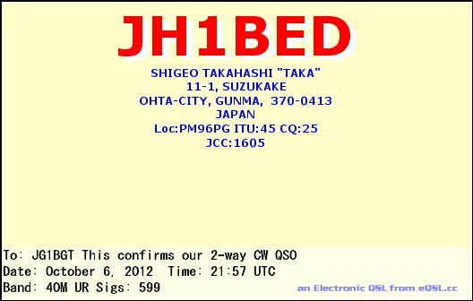 JH1BED