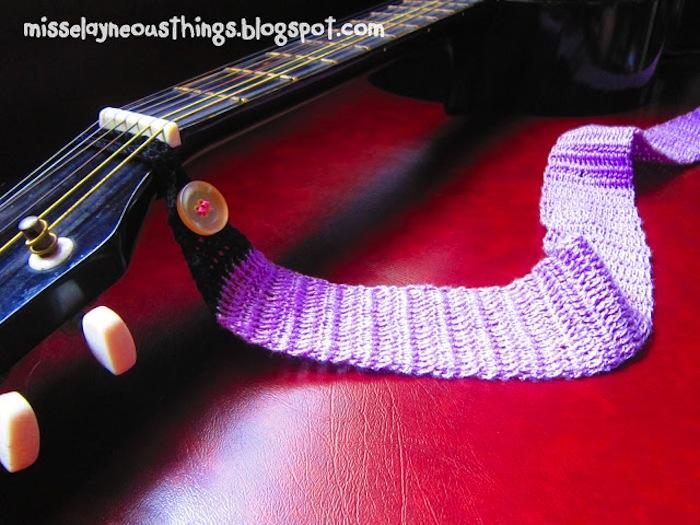 Crochet Guitar Strap