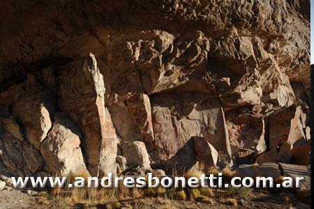 Arte Rupestre - Cueva de las Manos - Ruta 40 - Patagonia - Andrés Bonetti