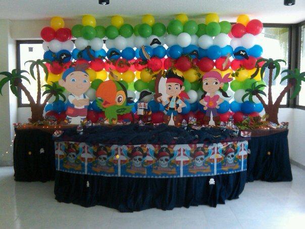 Decoración de fiesta jack el pirata - Imagui