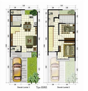 Aneka Desain Rumah dan Denah Rumahnya