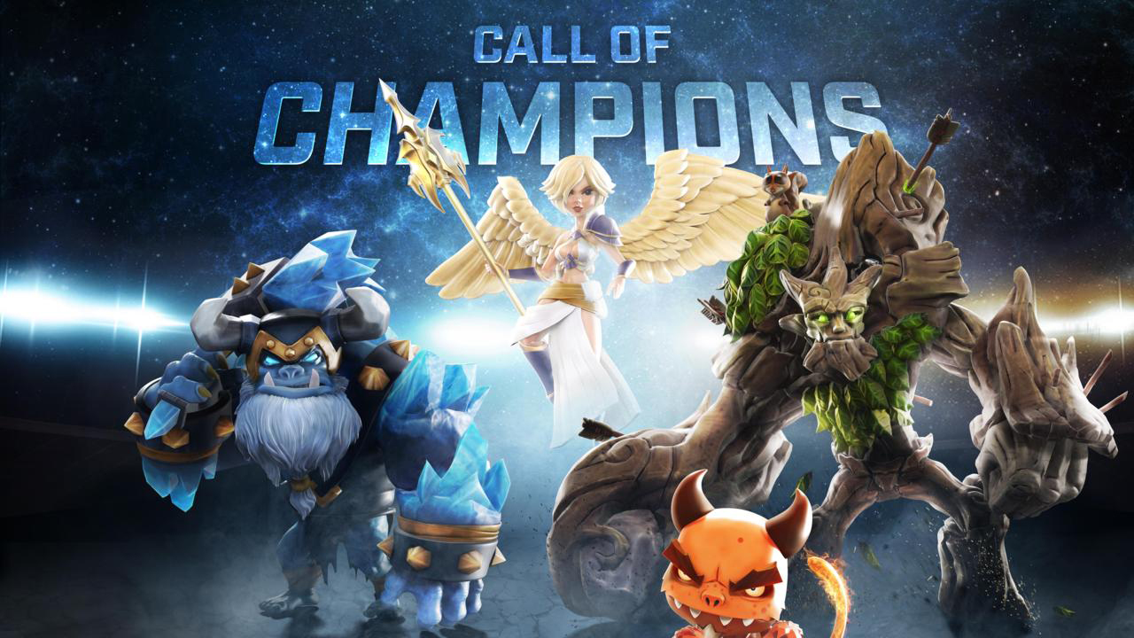 Call of Champions MOBA Gameplay IOS / Android