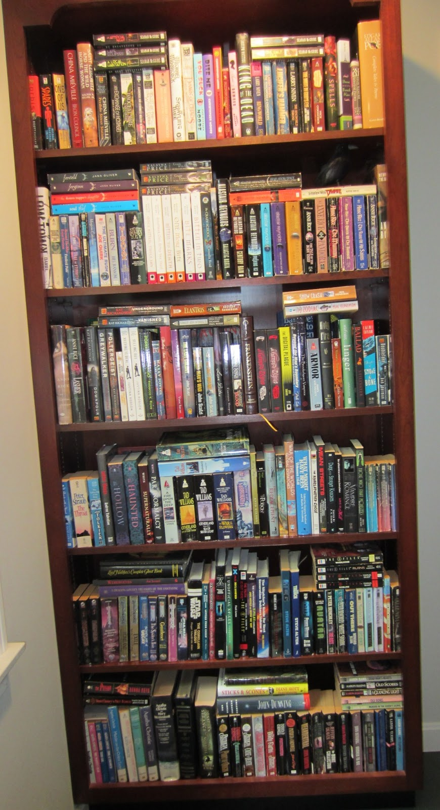E. J. Stevens bookcase II