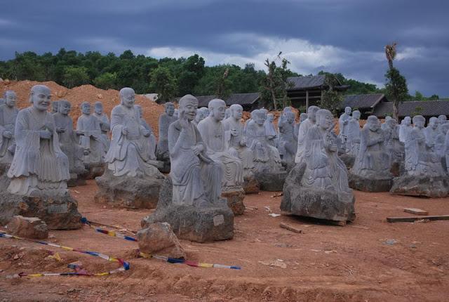 Bai Dinh - La pagode des records,  Photo An Bui