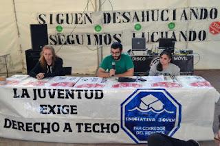"""La Iniciativa Joven de la PAH del Corredor del Henares exige un """"alquiler social variable"""""""