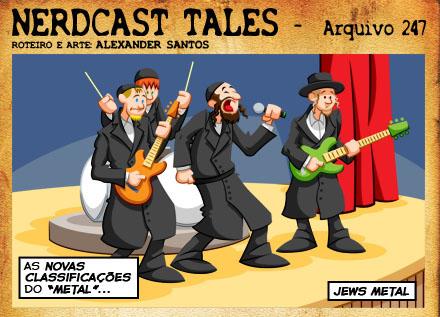 Tirinha do Nerdcast Tales - por Alexander Santos