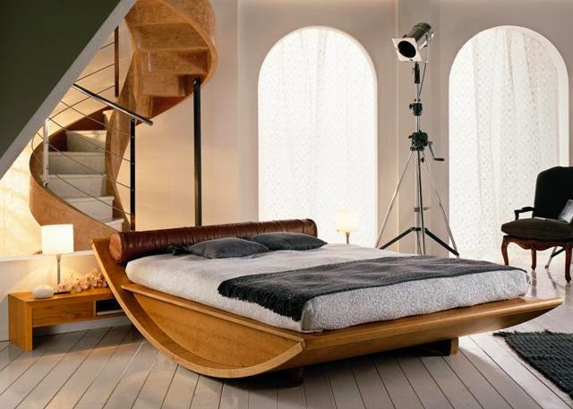 Chambre Coucher Moderne en bois | Décoration France Moderne ...
