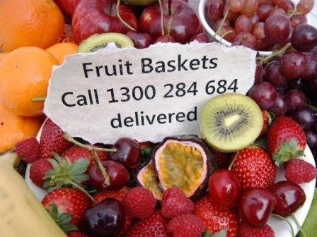 fruit baskets newcastle delivery