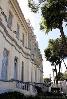 Frente do Museu da Gente Sergipana, em Aracaju - Sergipe