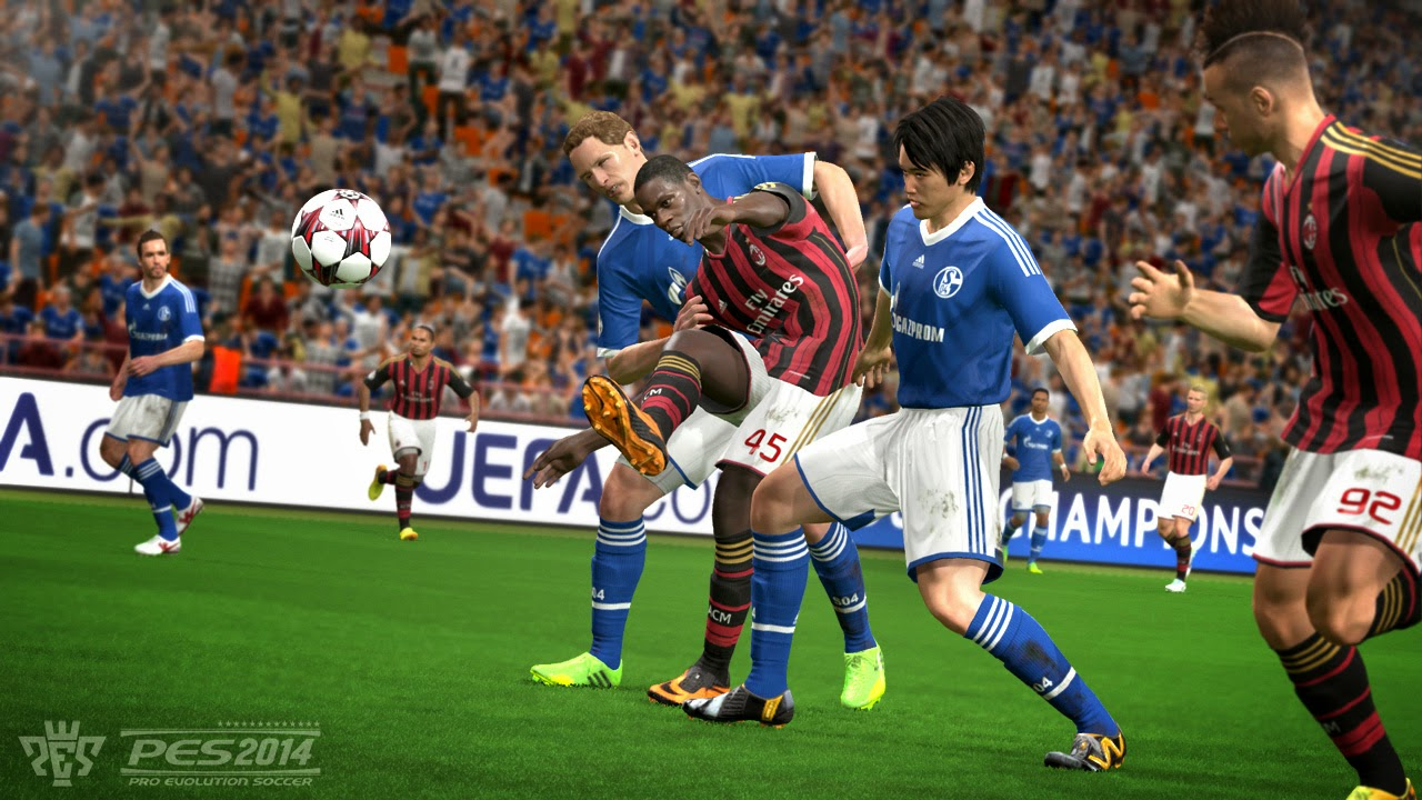 Download Pro Evolution Soccer ( PES ) 2014 Full Crack + Patch 1.01 For