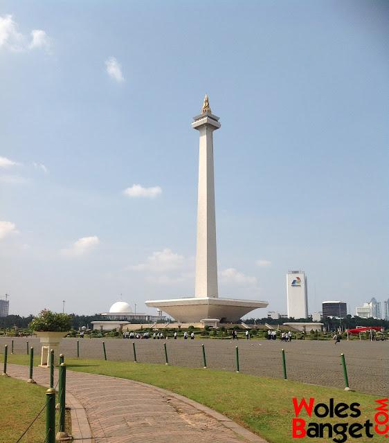 Monumen Nasional Wisata Rekreasi di jakarta