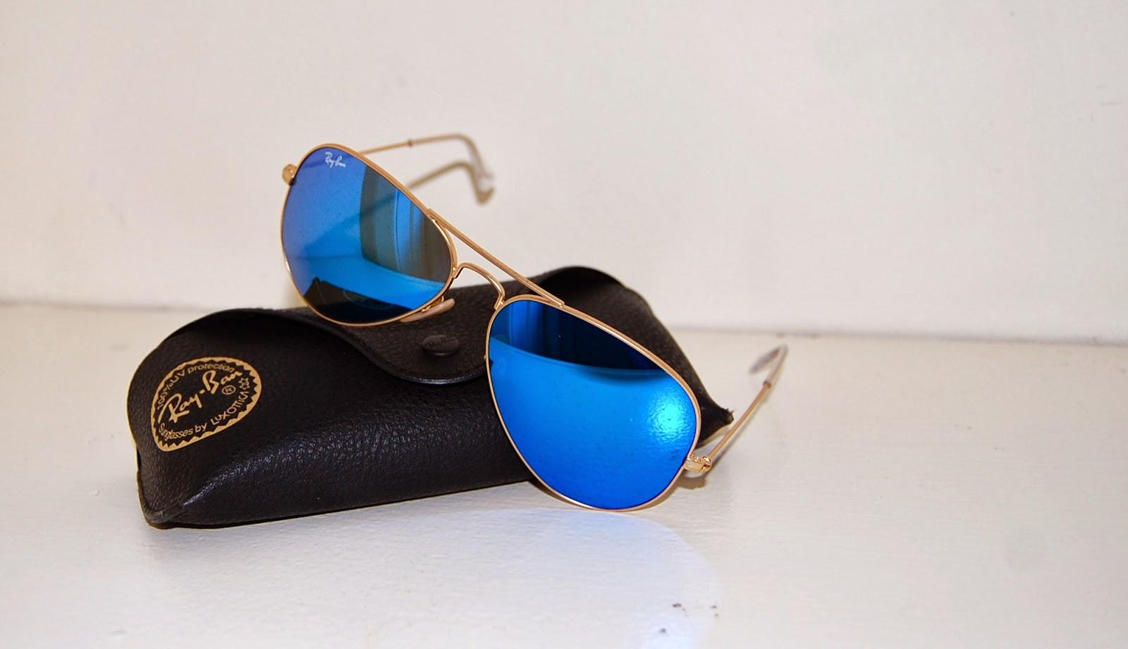 ee3cb9962d Blue Mirrored Ray Ban Aviators Cheap