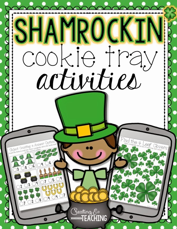 https://www.teacherspayteachers.com/Product/Shamrockin-Cookie-Tray-Activities-1748838