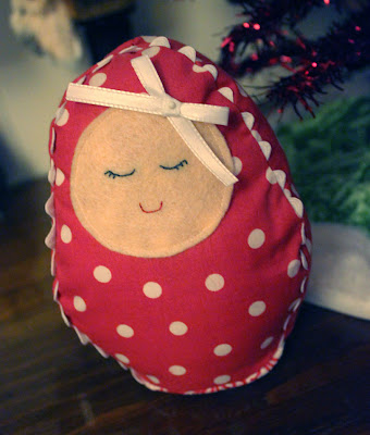 wee handmade christmas decoration