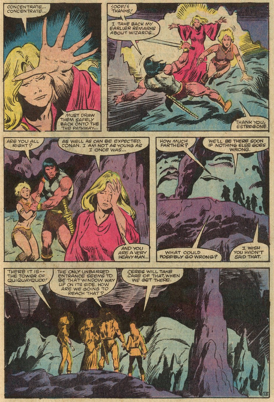 Conan the Barbarian (1970) Issue #146 #158 - English 18