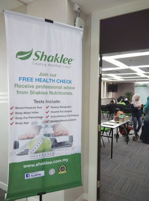 Aktiviti Shaklee Kami Wellness Fair di Hq Shaklee